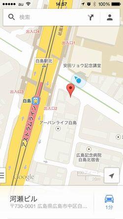 さんちぇ地図