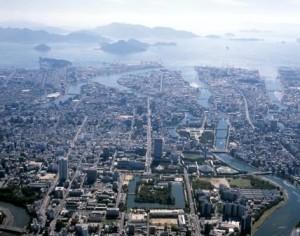 広島市航空写真